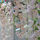 Artificial 1.8m Silk Cherry Blossom Vine - 1 piece
