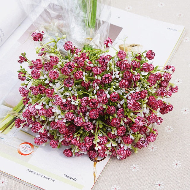 Artificial Gypsophila Baby's Breath Bouquet