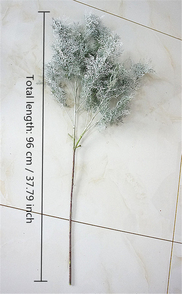 Artificial Single Large Branch Dianthus Leaves - 1 piece