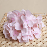 Artificial Silk Hydrangea Flower Heads - 50 pieces
