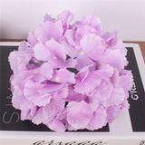 Artificial Large Hydrangea Flower Heads - 15 pieces