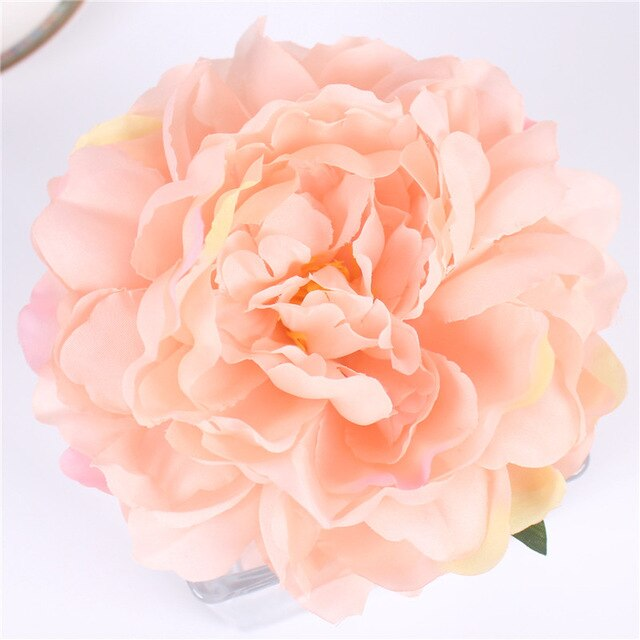 Artificial Large French Silk Peony Heads - 15  pieces