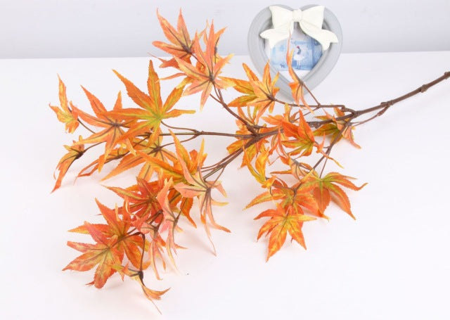 Artificial Maple Leaf Branch - 1 piece