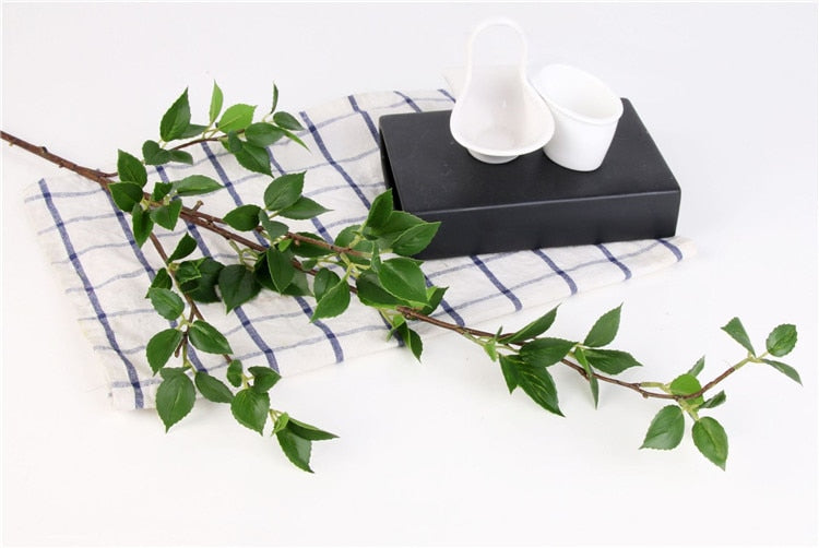 Artificial Cherry Blossom Leaf Plant - 1 piece