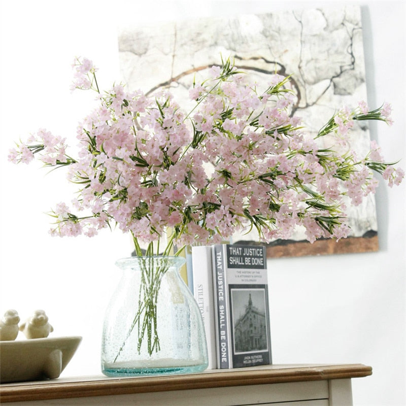 Artificial Silk Gypsophila Flower - 1 piece