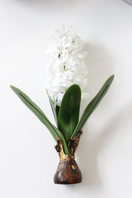 Artificial Hyacinth with Bulbs Plant - 1 piece
