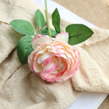 Artificial Western Peony Single-head Flower - 1 piece