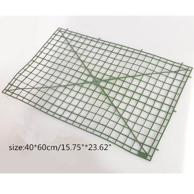 Plastic DIY Flower Grid Frame for Flower Wall - 5 pieces
