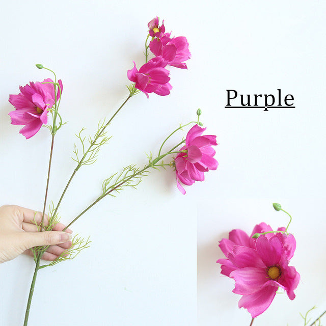 Artificial Single-branch Gesang Daisy Flower - 1 piece
