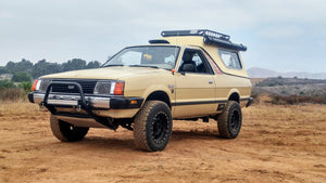 Bringing back a new life to the iconic Subaru Brat, Jason Osborne