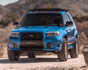 Off road lifted Subaru Forester