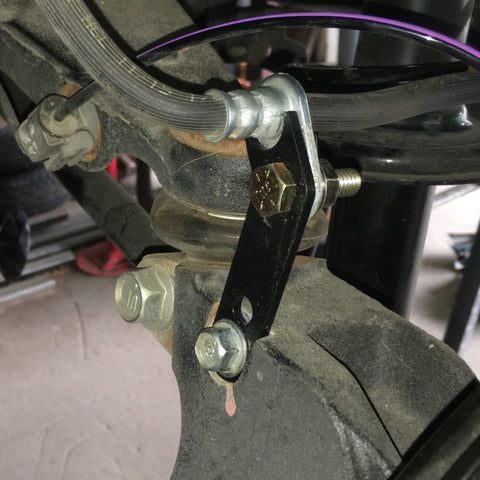Brake line brackets - Anderson Design & Fabrication