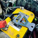 ADF Battery Tie Down - Anderson Design & Fabrication