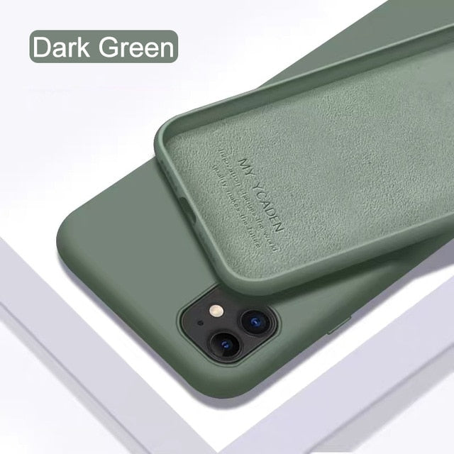 Electronicaa- Liquid Silicone Case for iphone