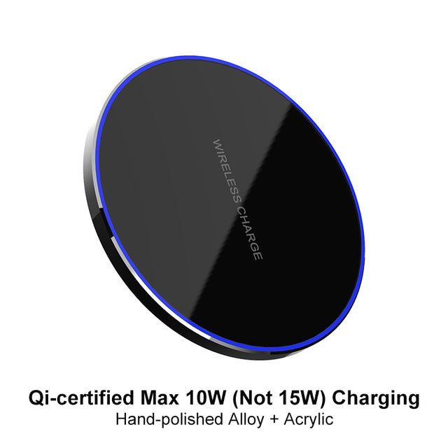 Electronicaa- 15W QI Quick Charging Wireless Fast Charger