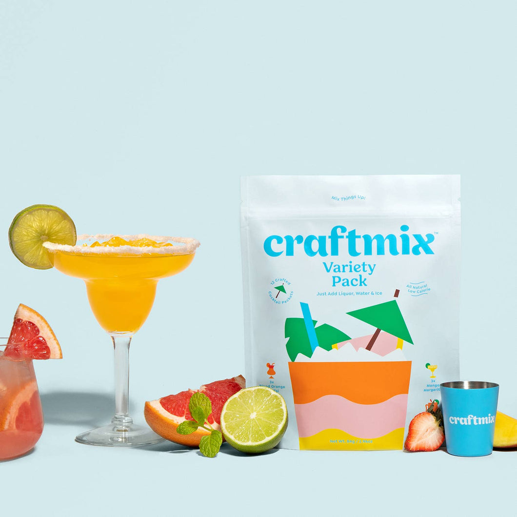 Variety Pack Cocktail Mixers - 12 Pack by Craftmix