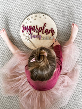 "Load image into Gallery viewer, Sugarplum Fairy Squad- 12"" Sign"