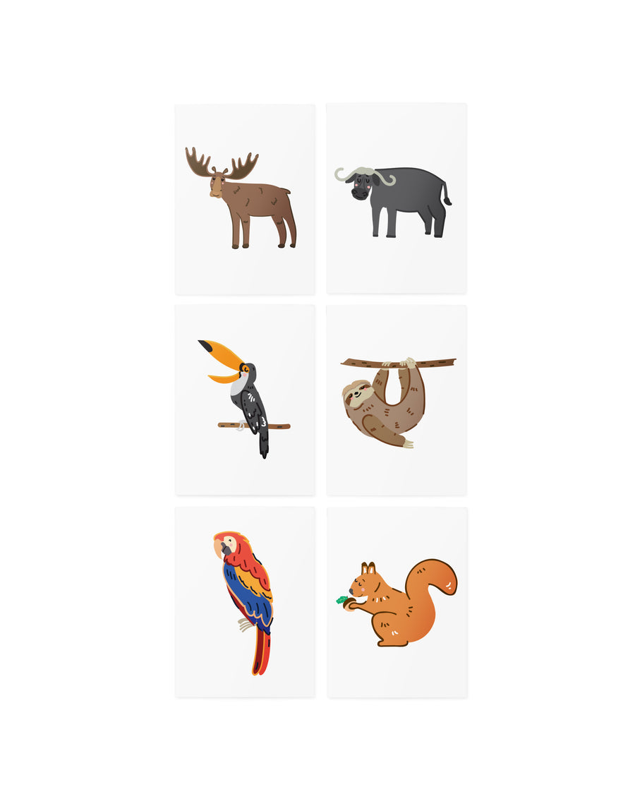 AR American animals set