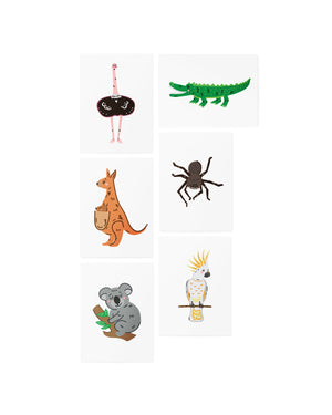 AR Australian animals set