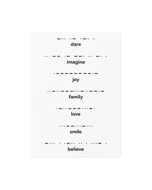 Morse code temporary tattoos TATTonme Morse code mix