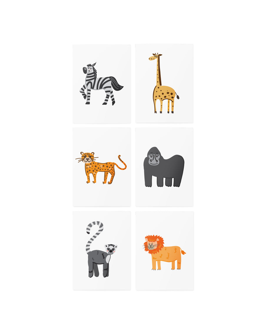 AR African animals set