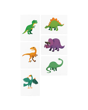 Dinosaurs kids temporary tattoos