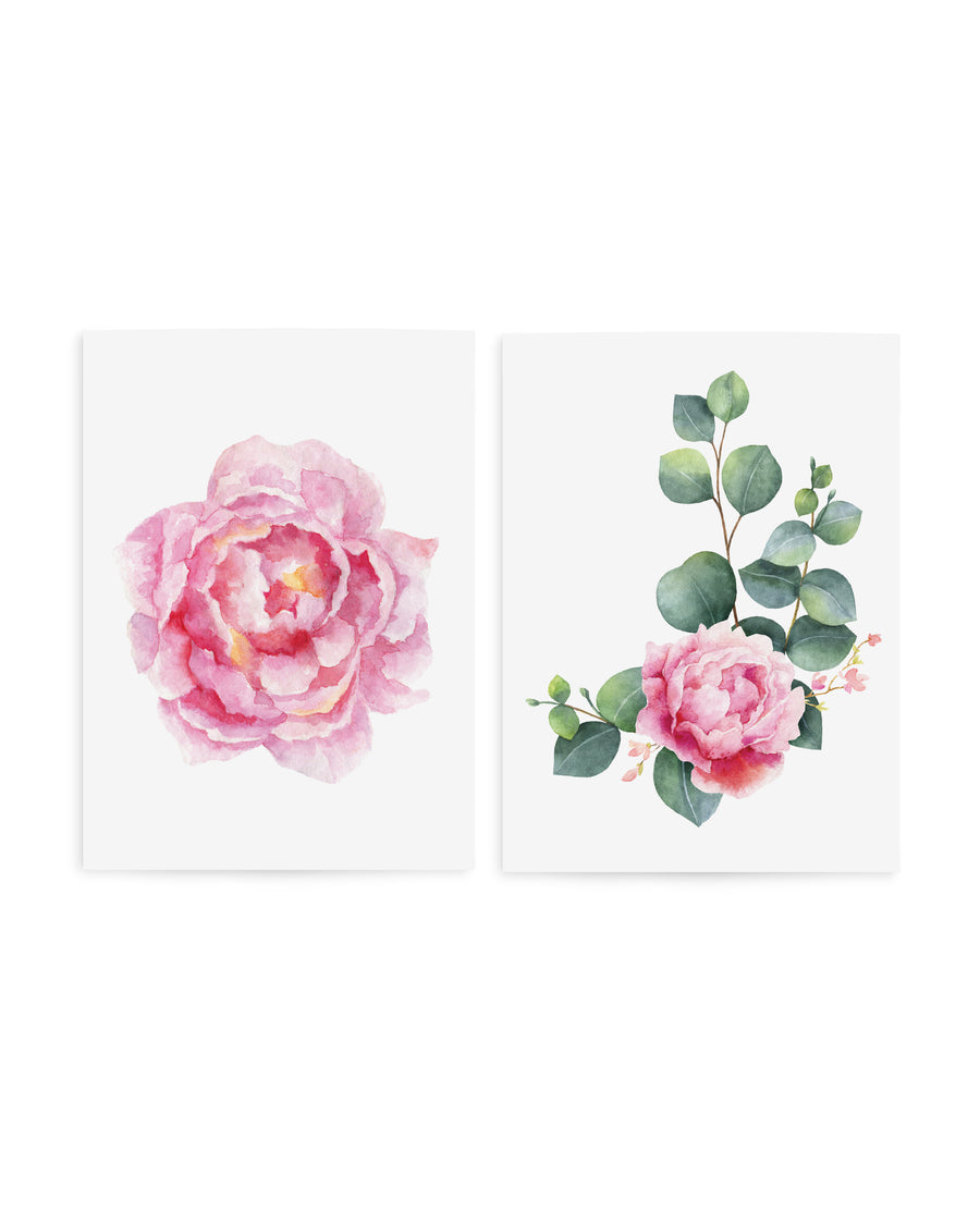 Flowers Peony bloom temporary tattoos TATTonme Peony Bloom set