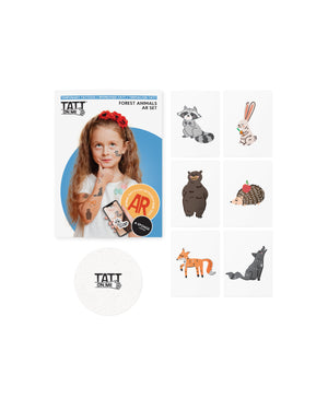AR Forest animals set
