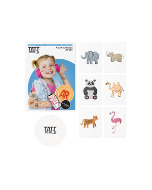 AR Asian animals set
