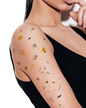 Bauhaus temporary tattoos