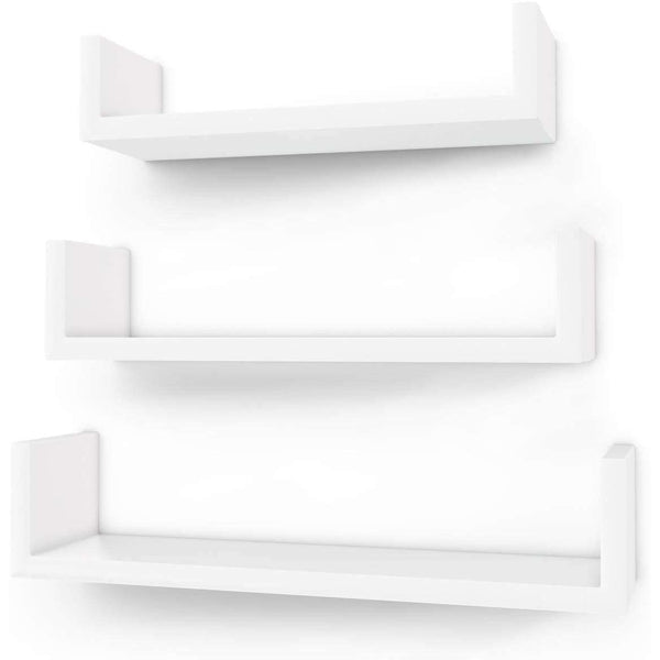 Nancy's Wall shelf Set of 3 - Closets - Cube Shelf - Wall Cabinet - White