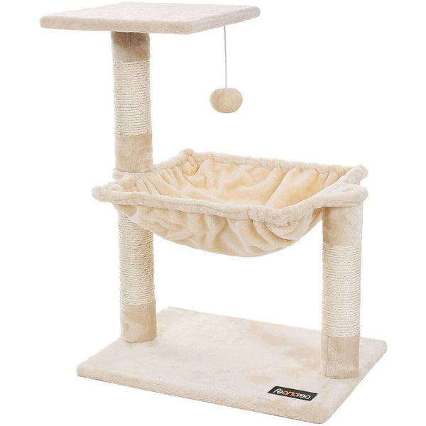 Nancy's Scratching Post for Cats Beige - Cat Tree Cat - Cat Scratching Post