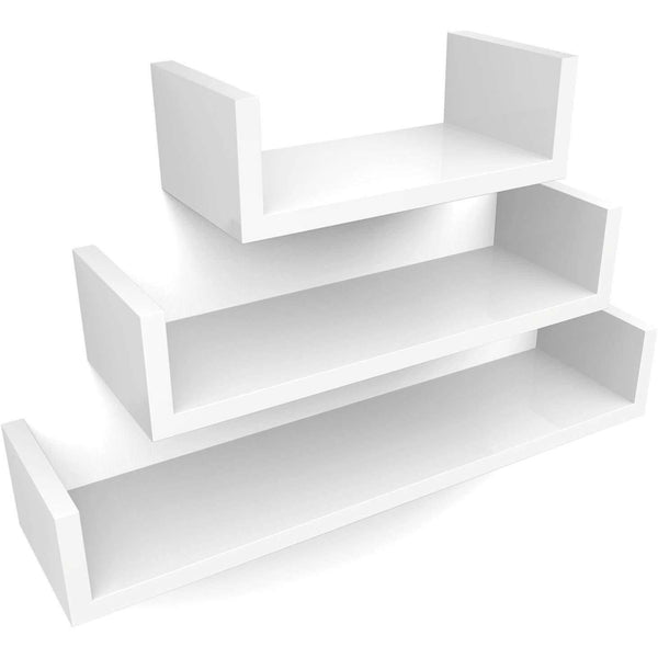 Nancy's Wall shelf Set Of 3 - Wall shelf Wood - Floating Shelves