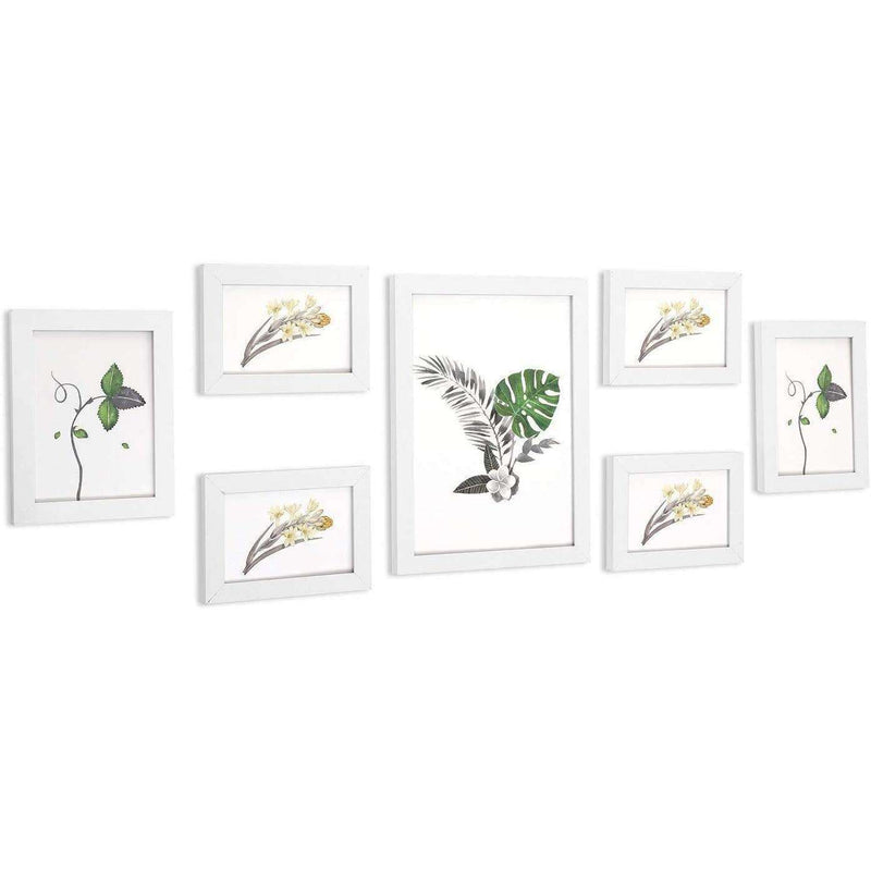 Nancy's Photo Frame Set Of 7 - Wall Frame - Photo Frame - Photo Frame Set