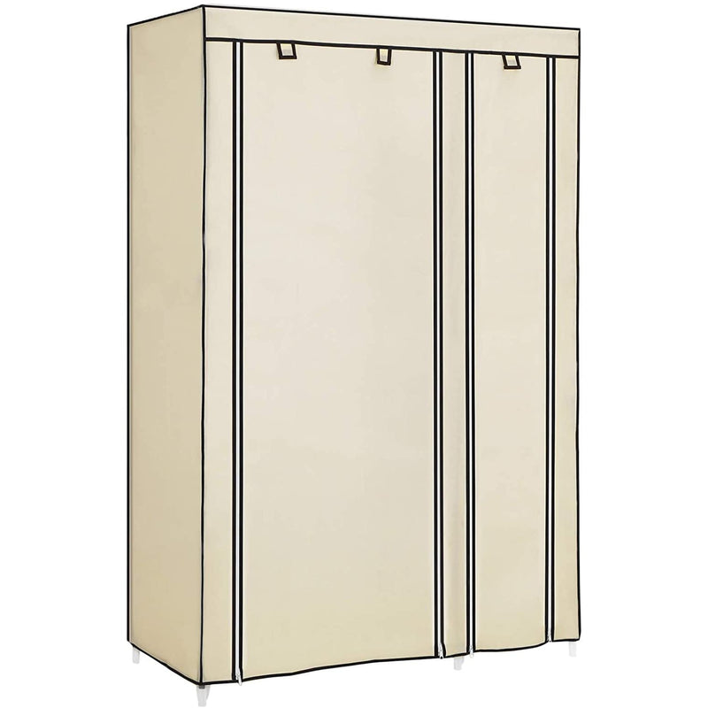 Nancy's Wardrobe - Rollable Wardrobe - Wardrobe - Fabric Closet - Beige