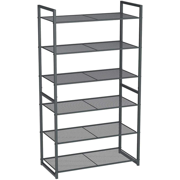 Nancy's Shoe with 6 shelves - Stackable Shoe Organizer - pair of shoes for 18-24 - Shoe cupboard - Metal - 63 x 30 x 112 cm