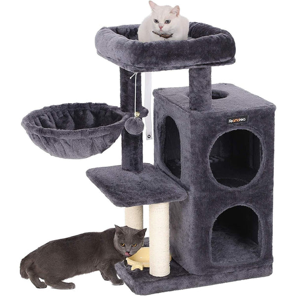 Nancy's Cat Tree with Hammock and Toys - Playhouse for Cats - 90CM