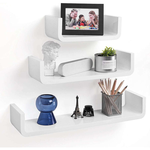 Nancy's Wall shelf Set Of 3 - Floating Shelf - Bookshelf