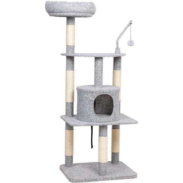 Nancy's Scratching Post - Cats House 136 CM - Cat Playhouse - Cat Tree - Scratching Posts
