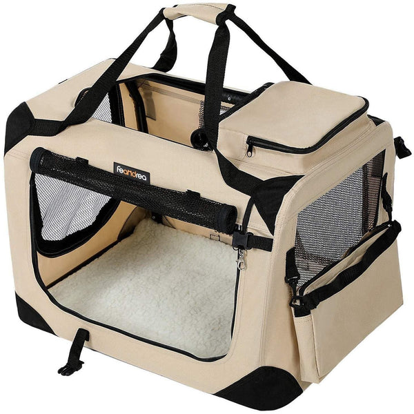 Nancy's Carrying Animals - Dog Bags - Hondenbox - Foldable carrying dogs - carrying cats - 102 x 69 x 69 cm