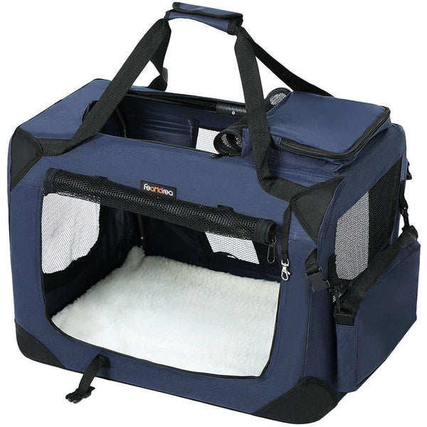 Nancy's Hondenbox - Transportbox Car - Dog Transport Box - Foldable Kattenbox - Navy