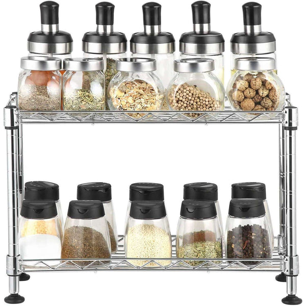 Nancy's Spice - Adjustable Kitchen Rack - 40 kg - 40 x 15 x 26.5 cm