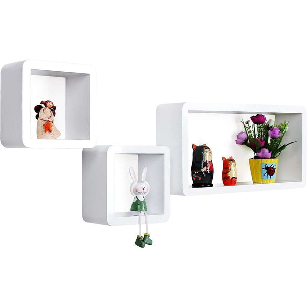 Nancy's Wall shelf three pieces - Bookshelf - Hanging Shelf - 15kg Weight capacity