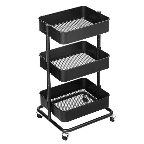 Nancy's Kitchen Trolley - Kitchen trolley - Storage Trolley - 3 Floors
