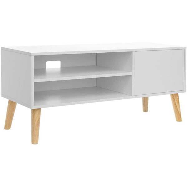 Nancy's Ashburn TV White Furniture - TV cabinet 110 x 40 x 49.5 cm