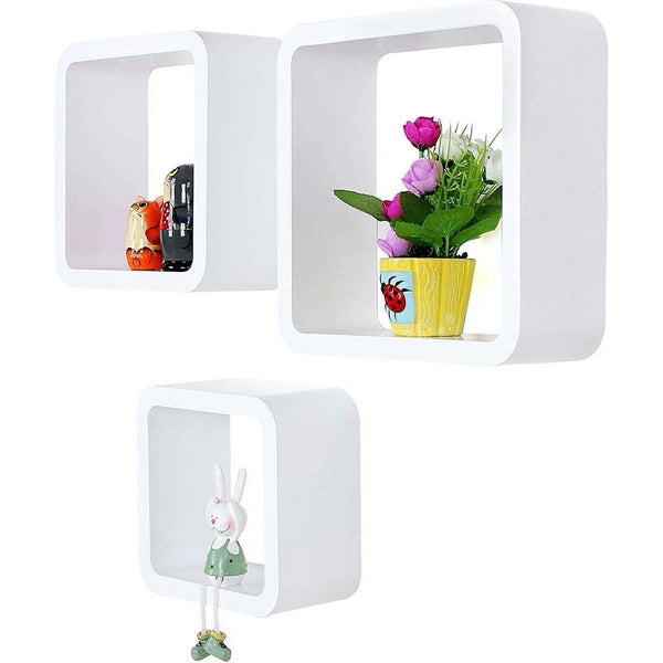 Nancy's wall box - Set of 3 - Wall Cubes - Storage shelves - Wall Boxes