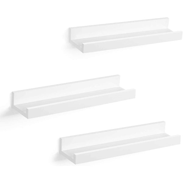 Nancy's Wall shelf 3 Pieces Wood - Wall shelf floating x 38 10 CM