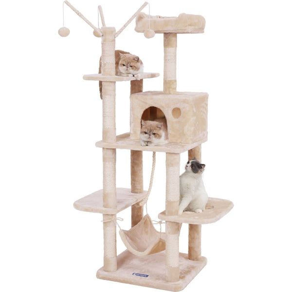 Nancy's Klimboom For Cats - Cat Tree - Cats Home With Hammock