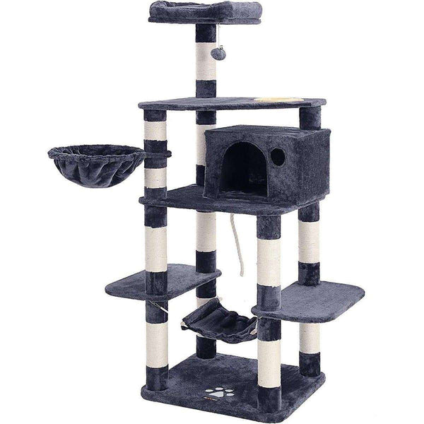 Nancy's Cat House XXL Gray - Cat Tree - Tree Cats - Cat Scratching Posts
