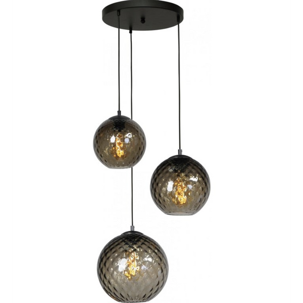 Nancy Thurston's Lamp 3 Lights - Living Light - Matt Black - Ø35CM